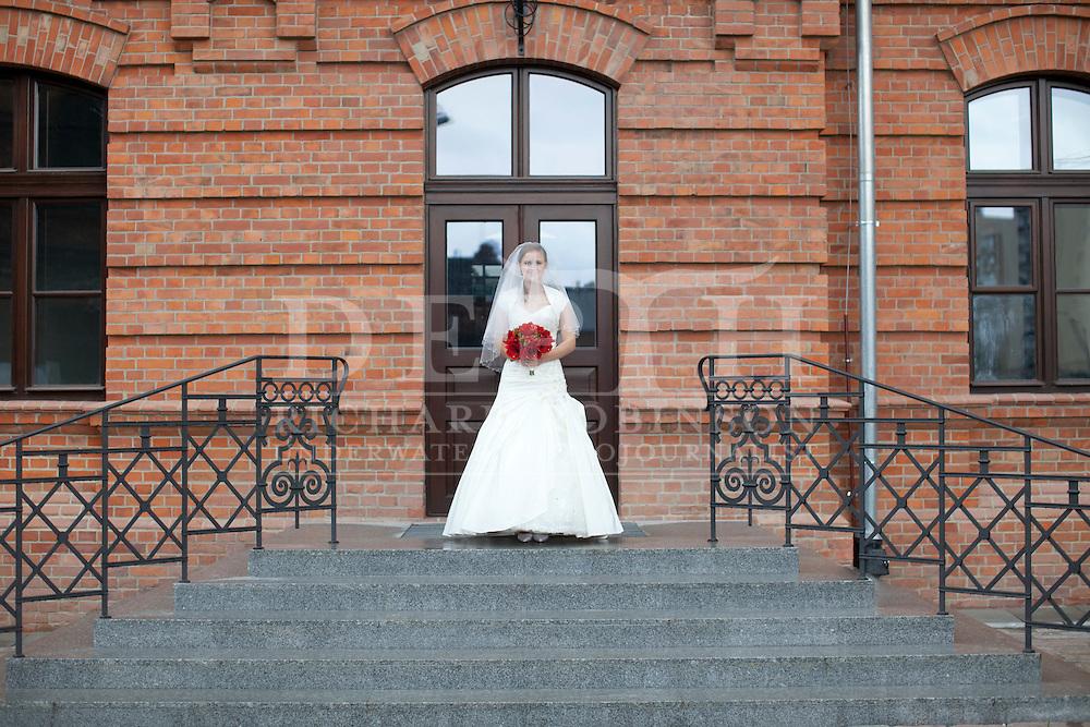 The Wedding of Anna Matuszczak and Richard Robinson in Warsaw Poland..Saturday 12 May 2012..Photograph Rafal Kudyba © 2012.