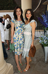 Left to right, Actress JAIME MURRAY and LAUREN KEMP at the annual Michele Watches Summer Party held in the gardens of Home House, 20 Portman Square, London W1 on 15th June 2006.<br /><br />NON EXCLUSIVE - WORLD RIGHTS