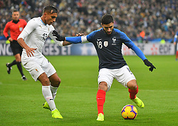 France's Nabil Fekir during France v Uruguay friendly football match at the Stade de France in Saint-Denis, suburb of Paris, France on November 20, 2018. France won 1-0. Photo by Christian Liewig/ABACAPRESS.COM