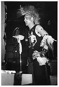 Adam Ant Fan, London 1980
