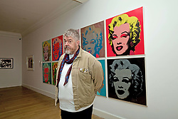 Comedian and broadcast celebrity Phill Jupitus launched a Warhol and Paolozzi exhibition at the Scottish National Gallery of Modern Art, Edinburgh. pic copyright Terry Murden @edinburghelitemedia