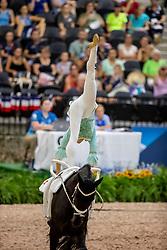 WILD Lisa (AUT), Fairytale<br /> Tryon - FEI World Equestrian Games™ 2018<br /> Nations Team Vaulting Championship<br /> 19. September 2018<br /> © www.sportfotos-lafrentz.de/Stefan Lafrentz
