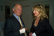 IAN HOMERSHAM AND LAURA TENNANT, The London Magazine party to celebrate the New London Season and the TLM award for the Best-Dressed Man and Woman. Serpentine Gallery. 21 May 2008.  *** Local Caption *** -DO NOT ARCHIVE-© Copyright Photograph by Dafydd Jones. 248 Clapham Rd. London SW9 0PZ. Tel 0207 820 0771. www.dafjones.com.
