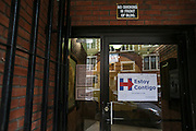 The entrance to Hillary Clinton's campaign office in Springfield, MA, Monday, Feb. 29, 2016.  CREDIT: Cheryl Senter for The New York Times