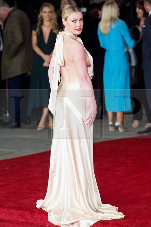 © Licensed to London News Pictures. 02/11/2017. London, UK. CAMILLA KERSLAKE attends the world film premiere of Murder On The Orient Express. Photo credit: Ray Tang/LNP