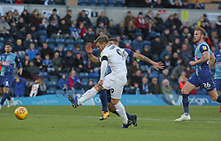 Matt Godden of Peterborough United misses a great chance to score against Wycombe Wanderers - Mandatory by-line: Joe Dent/JMP - 03/11/2018 - FOOTBALL - Adam's Park - High Wycombe, England - Wycombe Wanderers v Peterborough United - Sky Bet League One