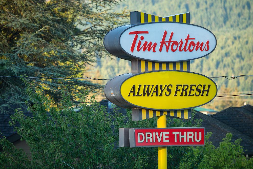 Canada, British Columbia Vancouver Island, Port Alberni, Tim Hortons,