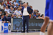 DESCRIZIONE : Beko Legabasket Serie A 2015- 2016 Dinamo Banco di Sardegna Sassari - Enel Brindisi<br /> GIOCATORE : Romeo Sacchetti<br /> CATEGORIA : Ritratto Allenatore Coach<br /> SQUADRA : Dinamo Banco di Sardegna Sassari<br /> EVENTO : Beko Legabasket Serie A 2015-2016<br /> GARA : Dinamo Banco di Sardegna Sassari - Enel Brindisi<br /> DATA : 18/10/2015<br /> SPORT : Pallacanestro <br /> AUTORE : Agenzia Ciamillo-Castoria/C.Atzori
