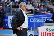 DESCRIZIONE : Campionato 2014/15 Victoria Libertas Consultinvest Pesaro - Dinamo Banco di Sardegna Sassari<br /> GIOCATORE : Romeo Sacchetti<br /> CATEGORIA : Allenatore Coach<br /> SQUADRA : Dinamo Banco di Sardegna Sassari<br /> EVENTO : LegaBasket Serie A Beko 2014/2015<br /> GARA : Victoria Libertas Consultinvest Pesaro - Dinamo Banco di Sardegna Sassari<br /> DATA : 09/03/2015<br /> SPORT : Pallacanestro <br /> AUTORE : Agenzia Ciamillo-Castoria/L.Canu<br /> Predefinita :