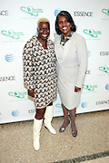 April 7, 2012 New York, NY:  (L-R)Television Executive Olivia Smashum and Gerri Warren Merrick, president, Greater New York Chapter, Links, Inc attends the 62nd Annual Women of Distinction Spirit Awards Luncheon & Fashion Show sponsored by The Links, Inc- Greater New York Chapter held at Pier Sixty at Chelsea Piers on April 7, 2012 in New York City...Established in 1946, The Links,  incorporated, is one of the nation's oldest and largest volunteer service of women, linked in friendship, are committed to enriching, sustaining and ensuring the culture and economic survival of African-American and persons of African descent . The Links Incorporated is a not-for-profit organization, which consists of nearly 12, 000 professional women of color in 272 located in 42 states, the District of Columbia and the Bahamas. (Photo by Terrence Jennings)