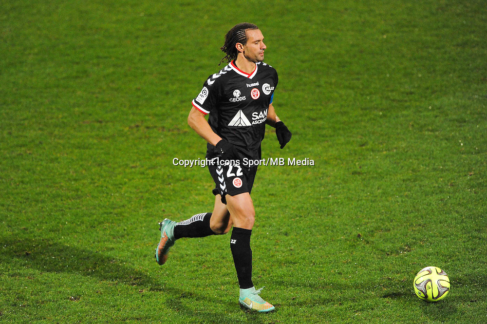 Mickael TACALFRED  - 04.12.2014 - Lyon / Reims - 16eme journee de Ligue 1  <br /> Photo : Jean Paul Thomas / Icon Sport