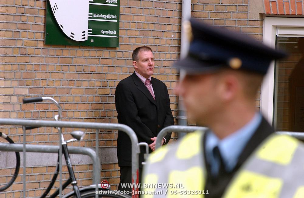 Begrafenis Pim Fortuyn, beveiliging