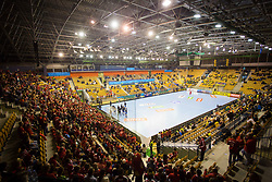 Arena Zlatorog during handball match between RK Celje Pivovarna Lasko and Telekom Veszprem in 1st round of VELUX EHF Champions League, on September 16, 2017 in Arena Zlatorog, Celje, Slovenia. Photo by Ziga Zupan / Sportida