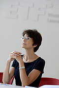 Marianne Thyssen (European Commissioner for Employment, Social Affairs, Skills and Labour Mobility) visits ETF, in Torino on 8th June, 2017. Thematic session with ETF management and selected programme staff