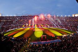 16.05.2010, Camp Nou Stadium, Barcelona, ESP, FC Barcelona Meisterfeier im Bild die Spieler des FC Barcelona feierten den Meistertitel, Übersicht, EXPA Pictures © 2010, PhotoCredit: EXPA/ Alterphotos/ ALFAQUI/ Gregorio / SPORTIDA PHOTO AGENCY
