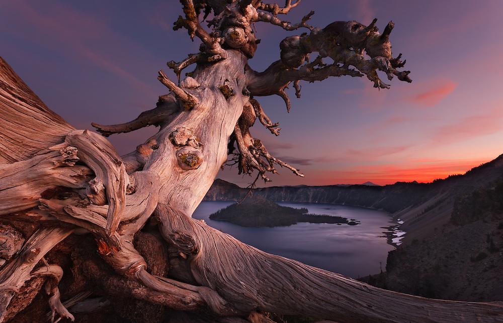 Crater Lake 7-35 PM