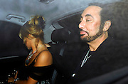 28.03.2007. LONDON<br /> <br /> *EXCLUSIVE PICTURES**<br /> <br /> DAVID GEST AND MALANDRA BURROWS LEAVING ZUMA RESTAURANT IN KNIGHTSBRIDGE, LONDON, UK.<br /> <br /> BYLINE: EDBIMAGEARCHIVE.CO.UK<br /> <br /> *THIS IMAGE IS STRICTLY FOR UK NEWSPAPERS AND MAGAZINES ONLY*<br /> *FOR WORLD WIDE SALES AND WEB USE PLEASE CONTACT EDBIMAGEARCHIVE - 0208 954 5968*