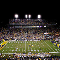 November 10, 2012; Baton Rouge, LA, USA;  A general view during the second half of a game between the LSU Tigers and the Mississippi State Bulldogs at Tiger Stadium.  LSU defeated Mississippi State 37-17. Mandatory Credit: Derick E. Hingle-US PRESSWIRE