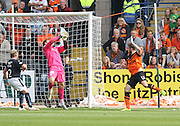 Dundee United's Keith Watson scored his side's 4th goal - Dundee v Dundee United, SPFL Premiership at Dens Park<br /> <br />  - &copy; David Young - www.davidyoungphoto.co.uk - email: davidyoungphoto@gmail.com