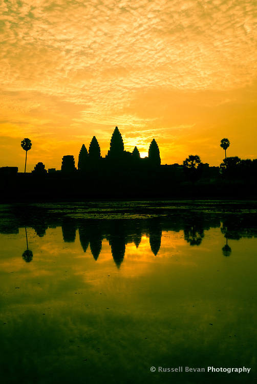 Sunrise at Angkor Wat Temple, Siem Reap, Cambodia