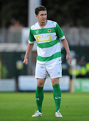 Yeovil Town's Alex Lacey - Photo mandatory by-line: Harry Trump/JMP - Mobile: 07966 386802 - 28/07/15 - SPORT - FOOTBALL - Pre Season Fixture - Yeovil Town v Bournemouth - Huish Park, Yeovil, England.