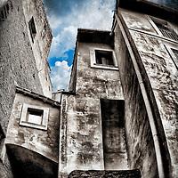 A glimpse of The Roman (Jewish) Ghetto. It was a ghetto located in the rione Sant'Angelo, in Rome, Italy