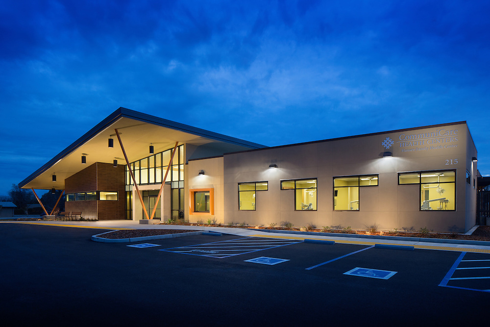Facility Design/Build by HY Architects & Unger Construction Healthcare Infrastructure - Architectural Example of Chip Allen Photography.