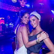 ESP/Ibiza/20130707 - Opening club Eden Ibiza, Kristel Hoekstra - Reinhout en vriendin