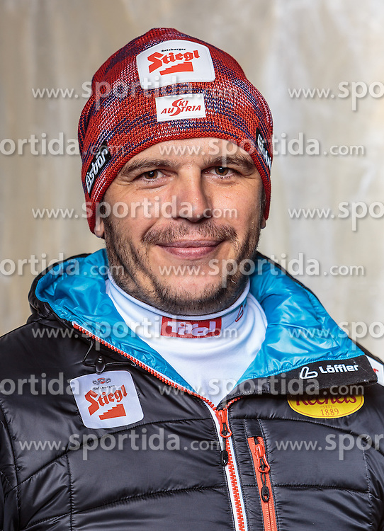 08.10.2016, Olympia Eisstadion, Innsbruck, AUT, OeSV Einkleidung Winterkollektion, Portraits 2016, im Bild Martin Galler, Nordische Kombination // during the Outfitting of the Ski Austria Winter Collection and official Portrait Photoshooting at the Olympia Eisstadion in Innsbruck, Austria on 2016/10/08. EXPA Pictures © 2016, PhotoCredit: EXPA/ JFK