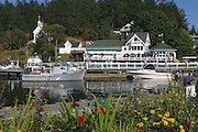 Roche Harbor, San Juan Island, Washington<br />