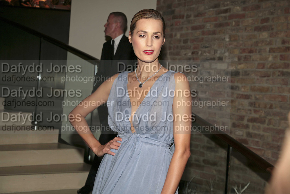 Yasmin le Bon, THE CHRISTMAS PARTY CELEBRATING THE 225TH ANNIVERSARY OF ASPREY. 167 NEW BOND ST. LONDON W1. 7 DECEMBER 2006. ONE TIME USE ONLY - DO NOT ARCHIVE  © Copyright Photograph by Dafydd Jones 248 CLAPHAM PARK RD. LONDON SW90PZ.  Tel 020 7733 0108 www.dafjones.com