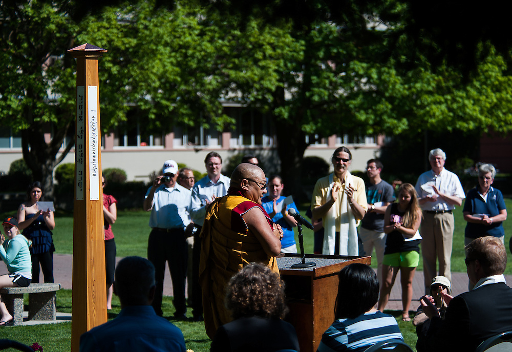 Peace Pole Dedication <br />