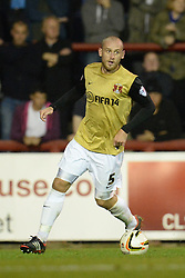Leyton Orient's Scott Cuthbert   - Photo mandatory by-line: Mitchell Gunn/JMP - Tel: Mobile: 07966 386802 23/09/2013 - SPORT - FOOTBALL -  Griffin Park - London - Brentford v Leyton Orient - Sky Bet League One