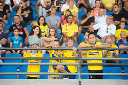 Supporters of Bravo during football match between NK Bravo and NK Domzale in 6th Round of Prva liga Telekom Slovenije 2019/20, on August 18, 2019 in Sports park ZAK, Ljubljana, Slovenia. Photo by Anze Petkovsek / Sportida