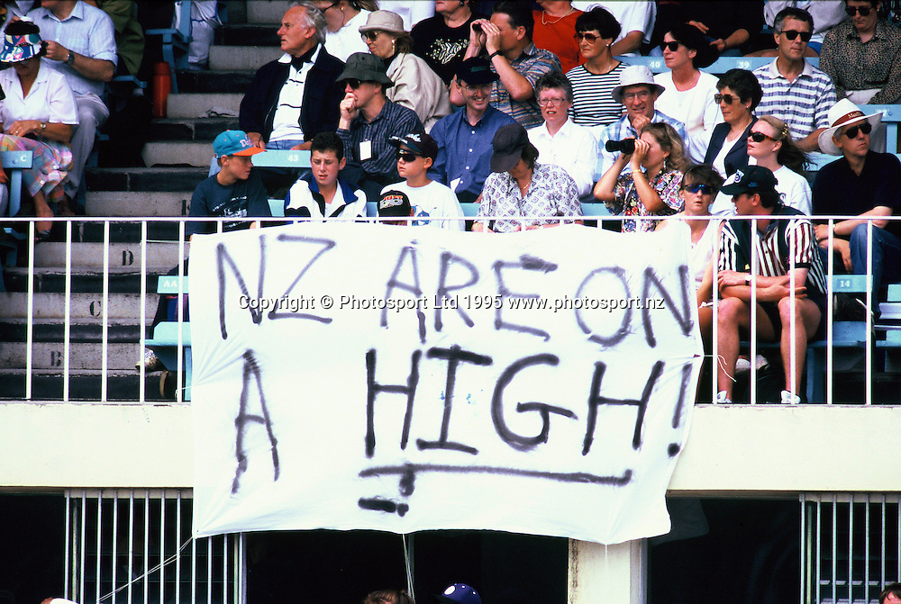 NZ v West Indies - 2nd ODI - Basin Reserve, 25 January 1995