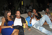 **EXCLUSIVE**.Jeremy Piven, Kanye West and Alexis.The Cain on The Cove Hotel Opening.Paradise Island, Bahamas.Friday, May 11, 2007 .Photo By Celebrityvibe.To license this image please call (212) 410 5354; or.Email: celebrityvibe@gmail.com ;