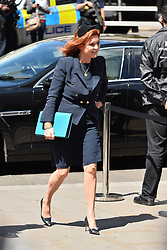 © Licensed to London News Pictures. 07/06/2017. London, UK. SARAH FERGUSON, DUCHESS OF YORK attends a service of Thanksgiving for the life and work of RONNIE CORBETT at Westminster Abbey. The entertainer, comedian, actor, writer, and broadcaster was best known for his long association with Ronnie Barker in the BBC television comedy sketch show The Two Ronnies. Photo credit: Ray Tang/LNP
