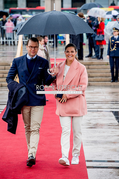 10-5-2017 OSLO NORWAY Lunch on the Royal Yacht, Norge. Photo opportunity as the Yacht leaves Honnørbrygga, the quayside in front of the City Hall. King Harald and Queen Sonja Prince Haakon and Crown Princess Mette-Marit Princess Märtha Louise Princess Astrid H.M. Queen Margrethe II  Crown Prince Frederik and Crown Princess Mary Prince Joachim and Princess Marie  King Carl XVI Gustaf and Queen Silvia Crown Princess Victoria and Prince Daniel Prince Carl Philip and Princess Sofia<br /> Grand Duke Herri and and Grand Duchess Maria-Teresa Archduke Duke Guillaume and Arvestor Duchess Stéphanie H.F.H. First Albert II King Willem-Alexander and Queen Maxima Princess Beatrix of the Netherlands  Princess Mabel of Oranje-Nassau King Philippe and Queen Mathilde  COPYRIGHT ROBIN UTRECHT <br /> <br /> 10-5-2017 OSLO NOORWEGEN Lunch op het Royal Yacht, Norge. Foto mogelijkheid als het Jacht vertrekt Honnørbrygga, de kade voor het stadshuis. Koning Harald en Koningin Sonja Prins Haakon en Kroonprinses Mette-Marit Prinses Märtha Louise Prinses Astrid H.M. Koningin Margrethe II Kroonprins Frederik en Kroonprinses Mary Prins Joachim en Prinses Marie Koning Carl XVI Gustaf en Koningin Silvia Kroonprinses Victoria en Prins Daniel Prins Carl Philip en Prinses Sofia<br /> Groothertog Herri en Groot Hertogin Maria-Teresa Aartshertog Duke Guillaume en Arvestor Duchess Stéphanie H.F.H. Eerste Albert II Koning Willem-Alexander en Koningin Maxima Prinses Beatrix van de Nederlandse Prinses Mabel van Oranje-Nassau Koning Philippe en Koningin Mathilde COPYRIGHT ROBIN UTRECHT