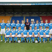 St Johnstone Academy Under 17's…2016-17<br />