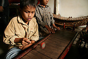 They live together and learn not only such as foreign languages, math but also traditional music as well.