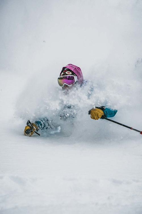 Over 45cm's fell during a 12 hour period at Burnie Glacier, British Columbia, and Emily Bodner was there.