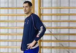 Nenad Bilbija during the Training Camp before IHF Men's Handball World Championship Spain 2013 on January 9, 2013 in Zrece, Slovenia. (Photo By Vid Ponikvar / Sportida.com)