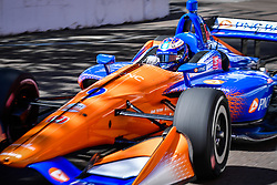 March 8, 2019 - St Petersburg, FLORIDA, UNITED STATE OF AMERICA - 9 SCOTT DIXON (NZL) CHIP GANASSI RACING (USA) HONDA (Credit Image: © Panoramic via ZUMA Press)
