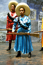 Cruising: Mexico, Ballet, Folkloric dancers, dancing, Photo: crumex105  .Photo Copyright: Lee Foster, (510) 549-2202, lee@fostertravel.com, www.fostertravel.com