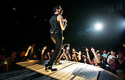 METRO - Depeche Mode frontman Dave Gahan performs during the band's concert Wednesday, November 9, 2005 at the SBC Center. BAHRAM MARK SOBHANI/STAFF