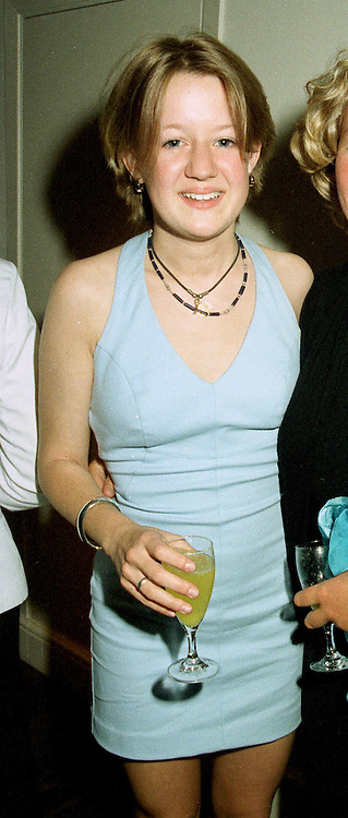 MISS LAURA FELLOWES, daughter of Sir Robert Fellowes at a party in London on 7th July 1997.MAB 27 WOLO