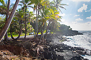 Puna Coast Road, Route 137, Kapoho to Kalapana, The Big Island of Hawaii