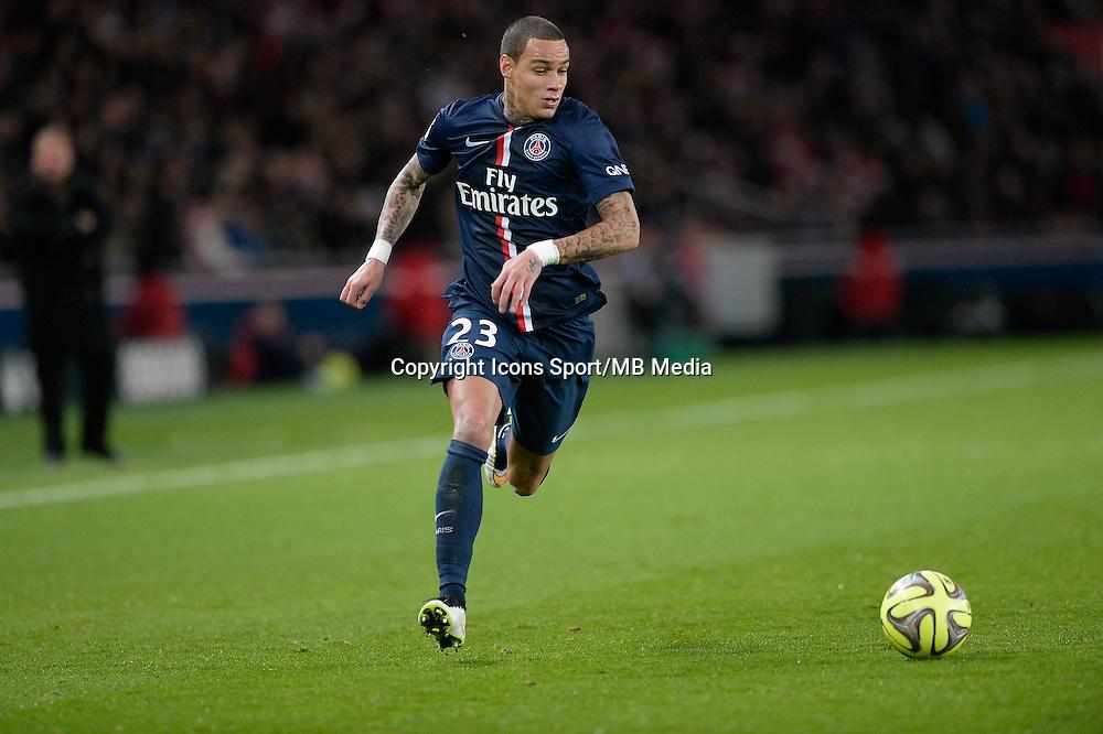 Gregory VAN DER WIEL - 20.12.2014 - Paris Saint Germain / Montpellier - 17eme journee de Ligue 1 -<br />Photo : Aurelien Meunier / Icon Sport