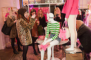 ZOE HELLEWELL, Juicy Couture and Fifi Lapin - masquerade Ball<br /> Juicy Couture, 27 Bruton Street, London,  7 March 2012