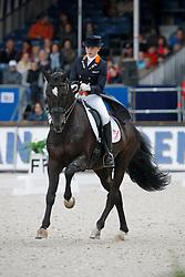 Van Lanen Michelle (NED) - Incredible<br /> Nederlands Kampioenschap Dressuur - De Steeg 2009<br /> Photo © Dirk Caremans